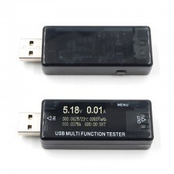 TESTER USB DE CARGA QC2.0/3.0 CON DISPLAY