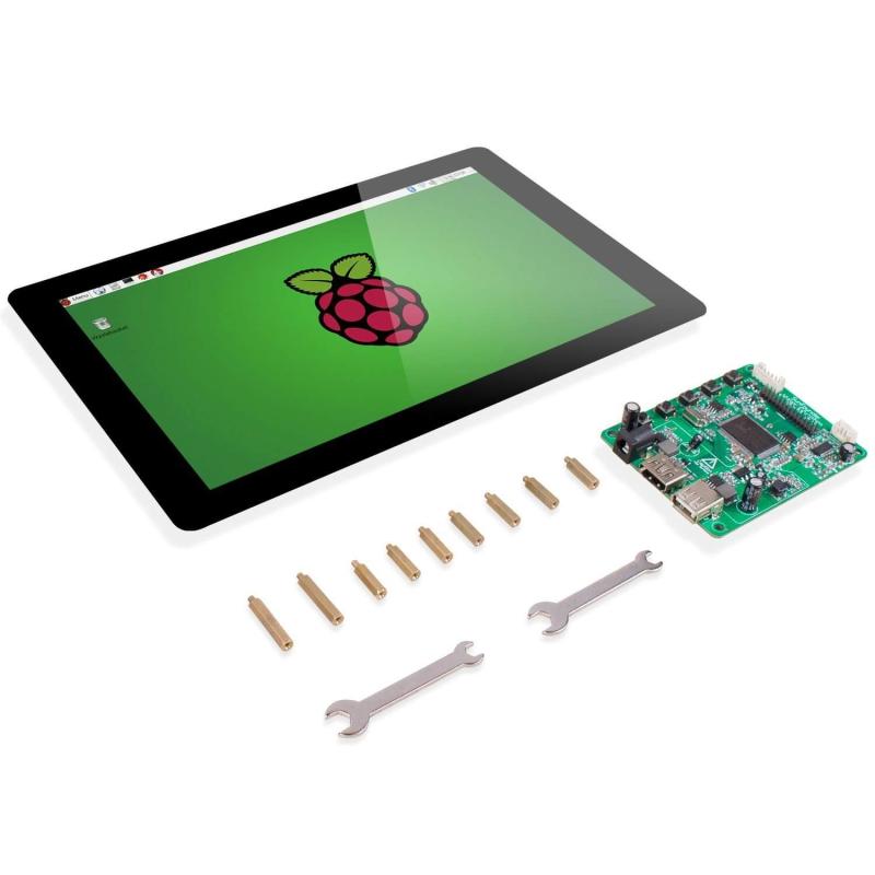 """PANTALLA 10,1"""" LCD IPS HD TACTIL PARA RASPBERRY PI"""