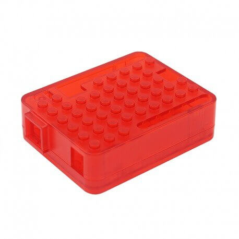 CAJA LEGO ROJA PARA ARDUINO UNO R3
