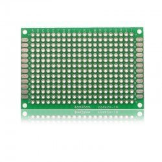 PLACA PCB PROTOTIPOS DOBLE CARA 4x6cm