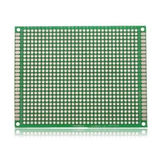 PLACA PCB PROTOTIPOS DOBLE CARA 7x9cm