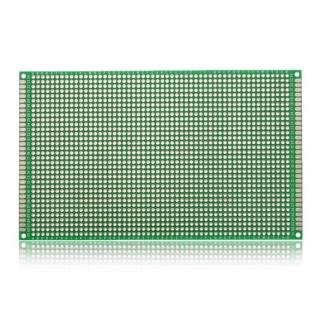 PLACA PCB PROTOTIPOS DOBLE CARA 9x15cm