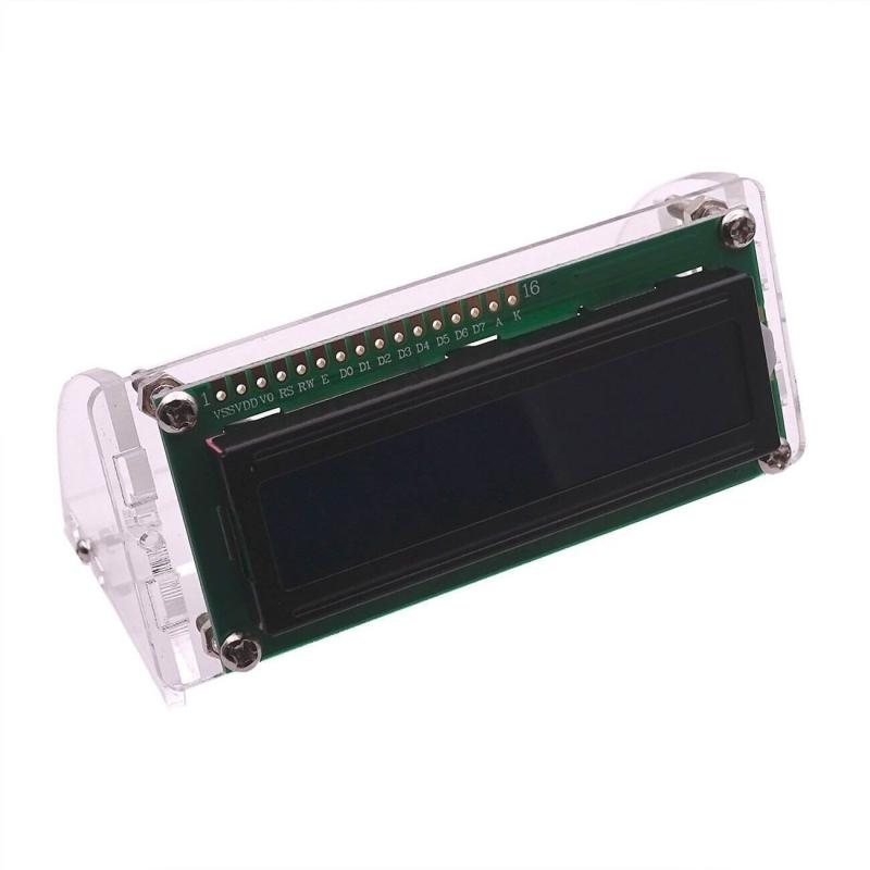 SOPORTE ACRILICO PARA LCD 1602