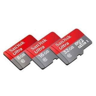 SANDISK TARJETA MEMORIA ULTRA MICROSDHC 8/16/32GB UHS-I CLASS10 FULLHD