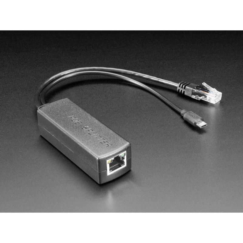 POE SPLITTER 5V / 2,4A 12W MICRO USB