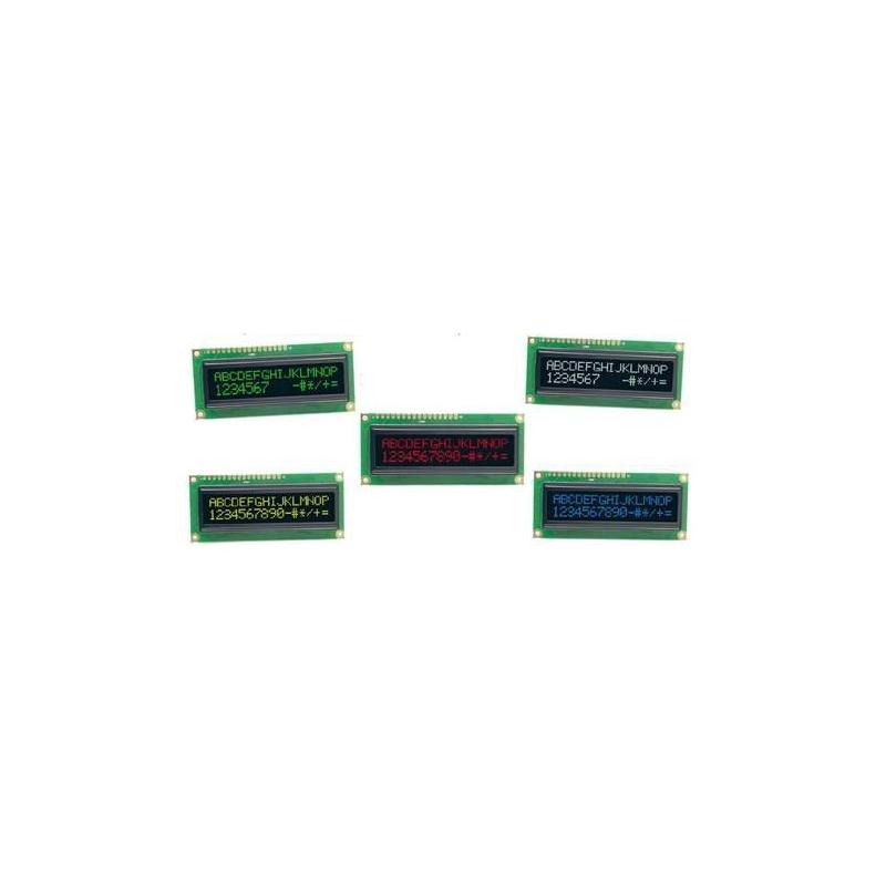 PANTALLA LCD 1602L 16X2 RGB