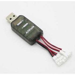 CARGADOR USB 4 CANALES PARA BATERIAS LIPO LIHV