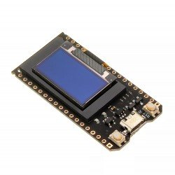 "PLACA ESP-32 CON DISPLAY OLED 0,96"" WIFI+BT 4MB +LIPO IOT"