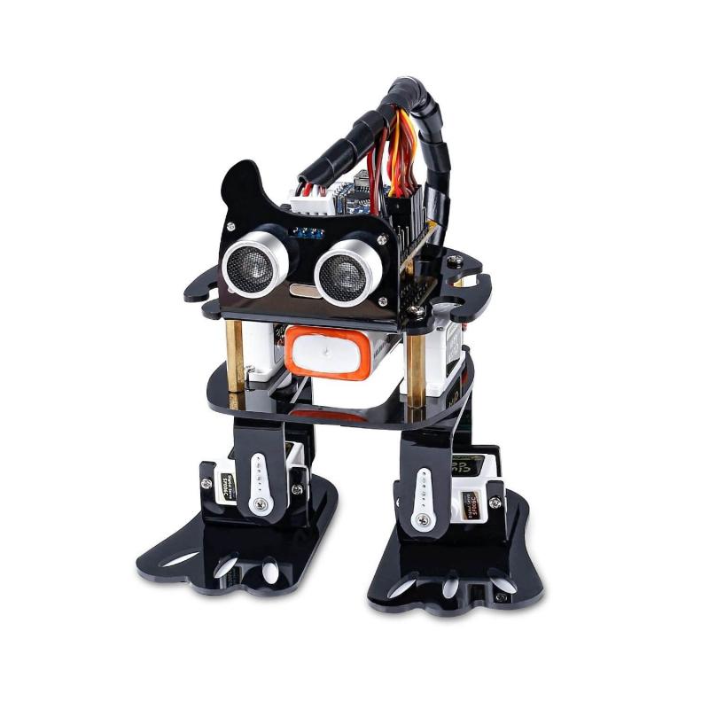 KIT ROBOT BIPEDO 4-DOF CON ARDUINO NANO