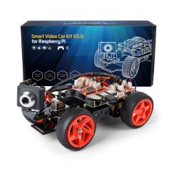 SUNFOUNDER PICAR-V SMART VIDEO CAR KIT V2.0 PARA RASPBERRY PI STEM