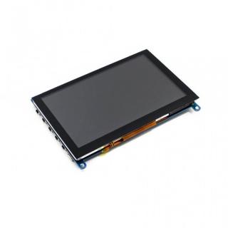 """PANTALLA LCD 5"""" 800X480 HDMI TACTIL CAPACITIVA"""
