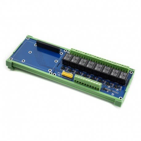 PLACA EXPANSION 8 RELES PARA RASPBERRY PI