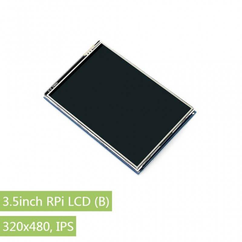 """PANTALLA LCD 3,5"""" 480x320 IPS TACTIL"""