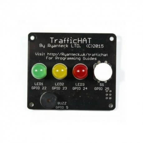 TRAFFIC HAT PARA RASPBERRY PI