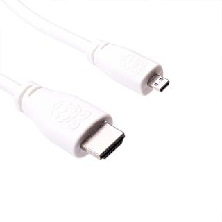 CABLE MICRO HDMI (TIPO D) OFICIAL 1M. RASPBERRY PI