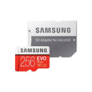 SAMSUNG MICROSDXC 256GB CLASS10 UHS-3 EVO+ 100MB/S