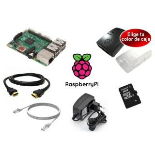 RASPBERRY PI 2 - MODELO B 1GB - KIT DE INICIO AVANZADO