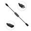 CABLE ALARGADOR USB-C NEGRO CON INTERRUPTOR - RASPBERRY PI 4