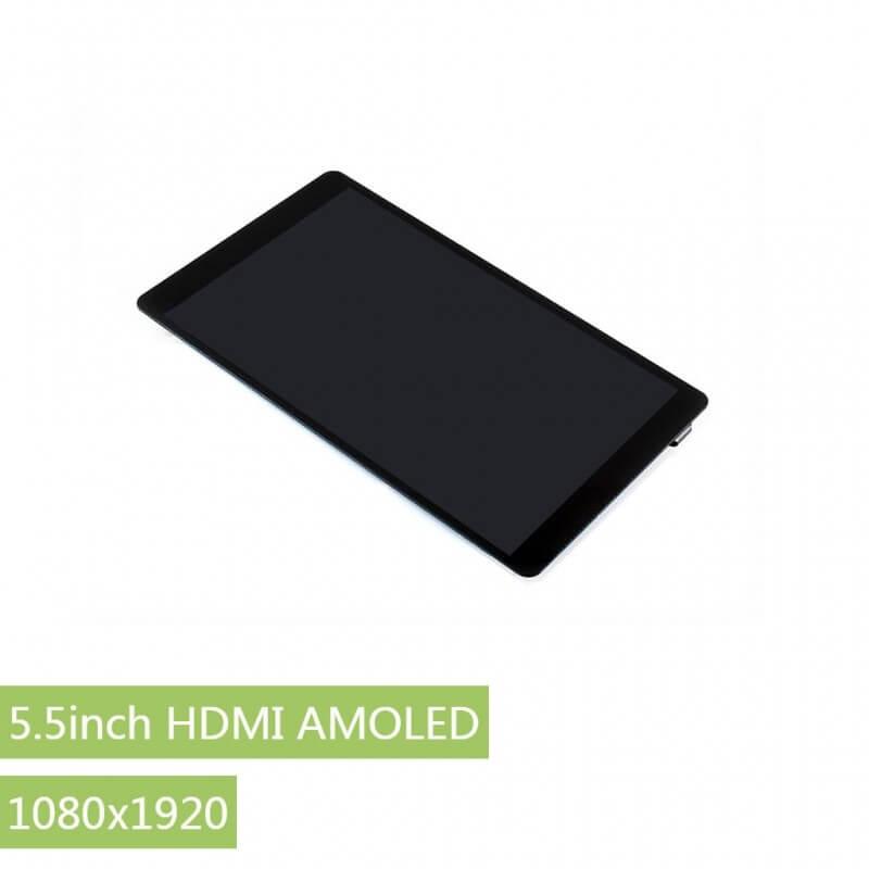 """PANTALLA 5,5"""" HDMI AMOLED TACTIL CAPACITIVA"""