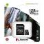 KINGSTON CANVAS SELECT PLUS MICROSDXC 128GB CLASS10 UHS-I A1 100MB/S