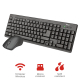 TRUST ZIVA WIRELESS COMBO TECLADO+RATON MULTIMEDIA