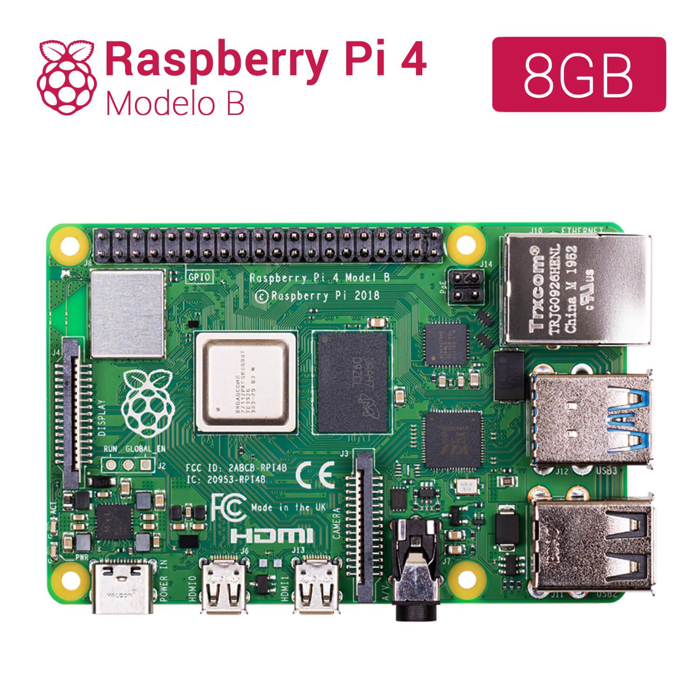 RASPBERRY PI 4 - MODELO B - 8GB (r1.4) - tiendatec.es