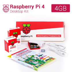 RASPBERRY PI 4 COMPUTER DESKTOP KIT 4GB + DISIPADORES (ES)