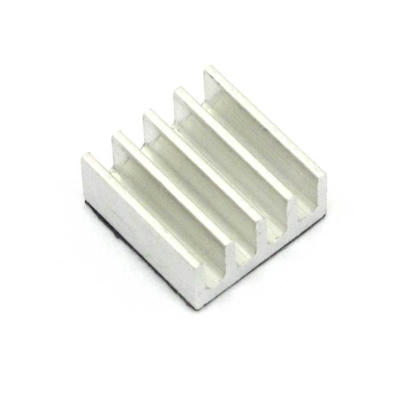 DISIPADOR DE CALOR 8.8x8.8x5mm PARA RASPBERRY PI, RAM, BITCOIN MINER