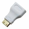 CONVERSOR MINI HDMI (TIPO C) A HDMI M/H - BLANCO