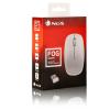 NGS FOG WHITE RATON INALAMBRICO BLANCO - USB NANO 2,40GHZ