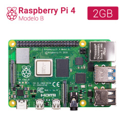 RASPBERRY PI 4 - MODELO B - 2GB