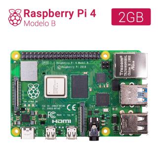 RASPBERRY PI 4 - MODELO B - 2GB (r1.4)