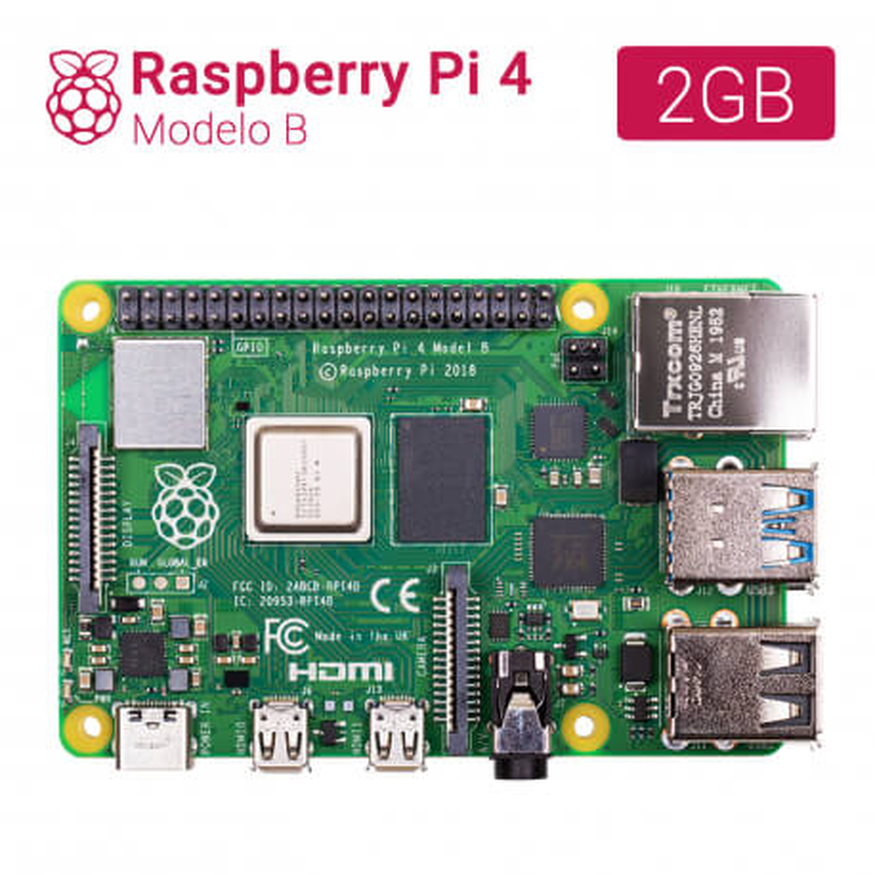 RASPBERRY PI 4 - MODELO B - 2GB