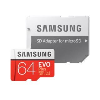 SAMSUNG EVO PLUS (2020) MICROSDXC 64GB C10 UHS-I U3 100MB/S