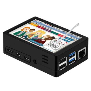 CAJA VERSATIL LCD/VENTILADOR PARA RASPBERRY PI 4
