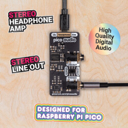 PICO AUDIO PACK (LINE-OUT Y AURICULARES)