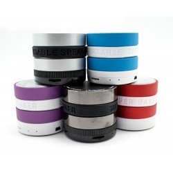 MINI ALTAVOZ ISOUL BLUETOOTH MULTIPLES COLORES