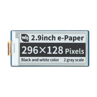 """PANTALLA E-INK 2,90"""" 296x128"""