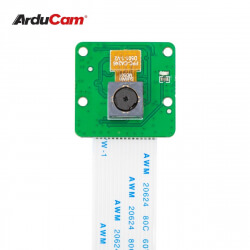 Arducam Auto Focus Camera, Autofocus for Raspberry Pi Camera Module, Motorized Focus Lens, OV5647 5MP 1080P, Compatible with Pi