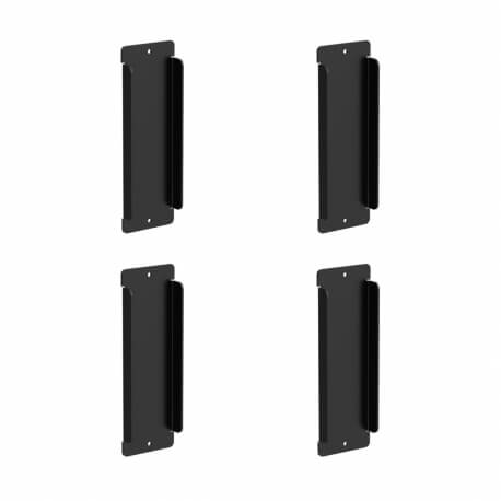 UCTRONICS Blank Covers for 3U Raspberry Pi Rack Mount, 4-Pack