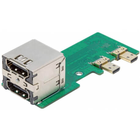 UCTRONICS Micro HDMI to HDMI Adapter Board for Raspberry Pi 4 Model B