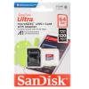 SANDISK ULTRA MICROSDXC 64GB CLASS10 U1 A1 100MB/S