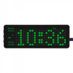 Electronic Clock for Raspberry Pi Pico, Accurate RTC, Multi Functions, LED Digits