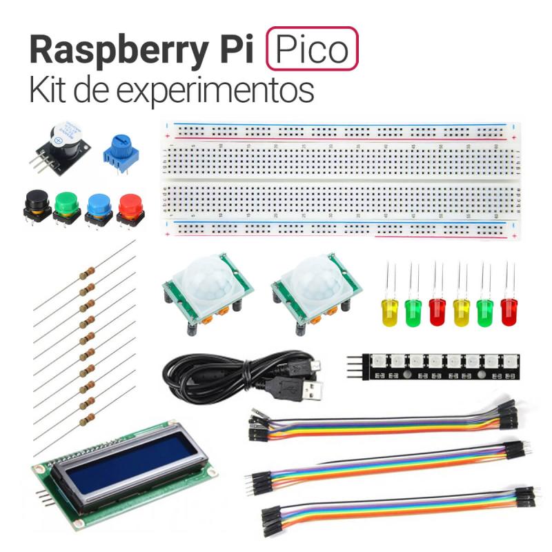 KIT EXPERIMENTOS CON RASPBERRY PI PICO Y MICROPYTHON