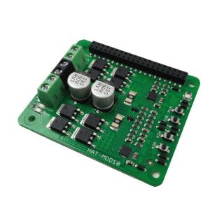 HAT-MDD10 CONTROLADOR MOTOR 10A 6-24V PARA RASPBERRY PI