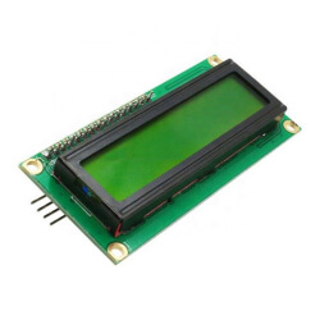 PANTALLA LCD 1602A 16X2 I2C VERDE
