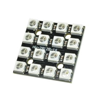 MATRIZ LED RGB WS2812B 4x4 16 PIXELES