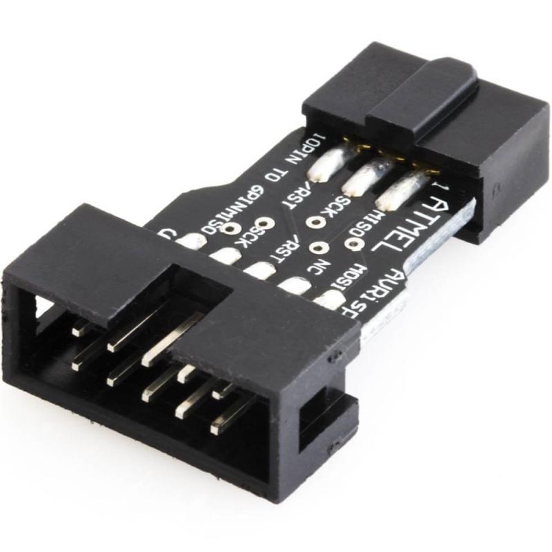 USBASP ADAPTADOR AVR ICSP 10 A 6 PINES