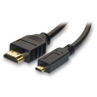 CABLE HDMI A MICRO HDMI (TIPO D) 2M. M/M NEGRO