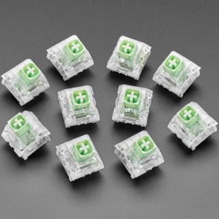 PULSADOR MECANICO KAILH - THICK CLICK JADE BOX - PACK 10 - COMPATIBLE CHERRY MX